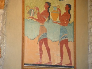 Wall frieze, Knossos Palace Photo L. Cavallaro