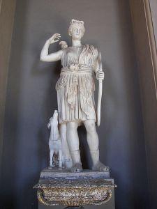 Vatican Museum Diana Roman copy