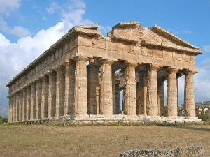 The Temple of Hera, Paestum  Italy