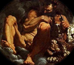 Hades by Agostino Carraci Museo Estense, Modena Italy