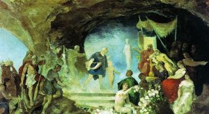 Orpheos in the Underworld by Henryk Siemiradzki circa 1881