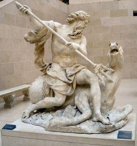 Neptune, Antoine Coysevox (Lyon, 1640 - Paris, 1720) Louvre