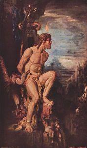 Prometheus Gustave Moreau 1868