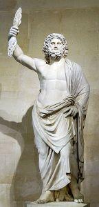 Jupiter of Smyrna circa 250 AD Louvre Museum