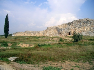 Tiryns Cyclopean Walls