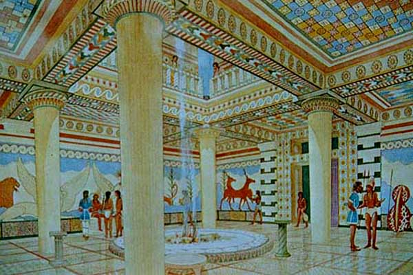 Artist's reconstrucyion of the palace http://proteus.brown.edu/greekpast/4870