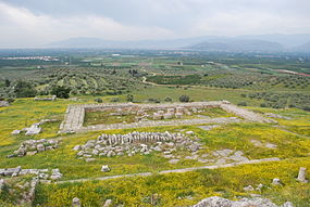 Remains of Hera's Temple Heraion Wikipedia
