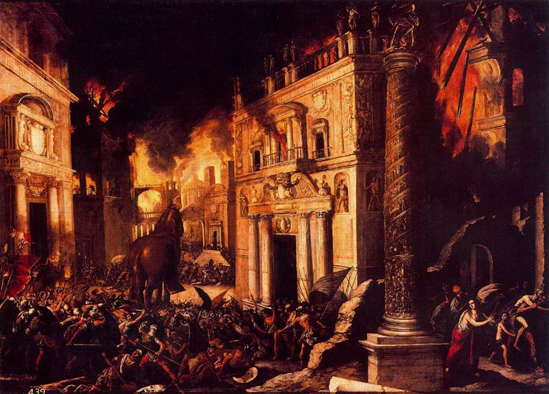 Destruction of Troy (1634) Francisco Collantes Prado Museum Wikipedia