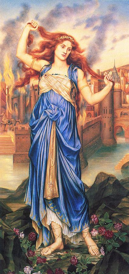 Cassandra Evelyn De Morgan (1898?)  Wikipedia