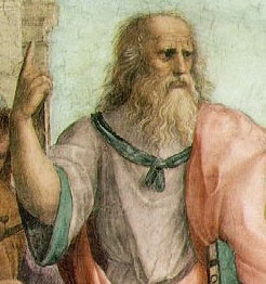Plato from the School of Athens by Raphael, 1509 Wikipedia