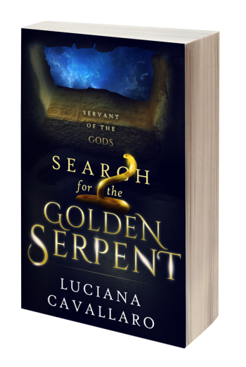 Search for the Golden Serpent, Part 1: Servant of the Gods by Luciana Cavallaro