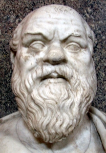 """Vatsoc"" (Socrates) by Wilson Delgado - Own work. Licensed under Public Domain via Wikimedia Commons - https://commons.wikimedia.org/wiki/File:Vatsoc.jpg#/media/File:Vatsoc.jpg"