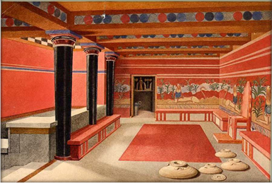 Reconstruction of the Throne Room