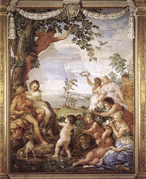 """The Golden Age (fresco by Pietro da Cortona)"". Licensed under Public Domain via Wikimedia Commons - https://commons.wikimedia.org/wiki/File:The_Golden_Age_(fresco_by_Pietro_da_Cortona).jpg#/media/File:The_Golden_Age_(fresco_by_Pietro_da_Cortona).jpg"