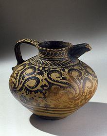 Minoan Decorated Jug, ca. 1575-1500  Brooklyn Museum Wikipedia