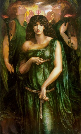 By Dante Gabriel Rossetti - http://hoocher.com/Dante_Gabriel_Rossetti/Dante_Gabriel_Rossetti.htm, Public Domain, https://commons.wikimedia.org/w/index.php?curid=34947112