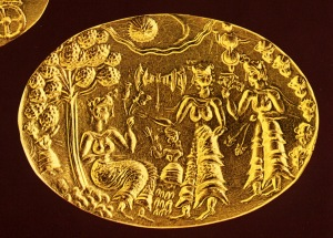 Minoan Gold Seal Heralkion Museum