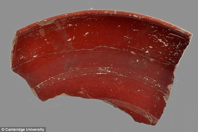 The discovery of a Roman pottery dump near Naples has revealed that the Romans used non-stick pans. Archaeologists unearthed fragments of pots with a thick, red, slippery coating (pictured), which are thought to have been used to cook meaty stews some 2,000 years ago Read more: http://www.dailymail.co.uk/sciencetech/article-3515952/Sorry-Tefal-Romans-used-non-stick-cookware-2-000-years-ago-Cumanae-testae-slippery-coating-stop-stews-sticking.html#ixzz492npLaQS Follow us: @MailOnline on Twitter | DailyMail on Facebook
