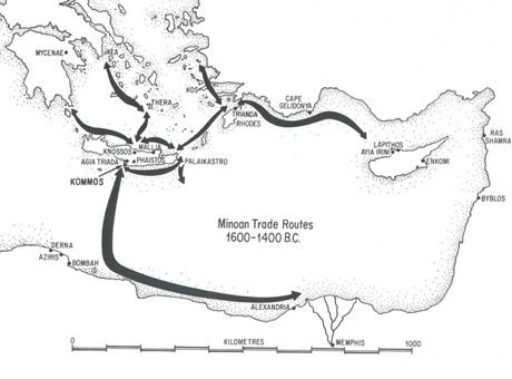 MinoanTradeRoutes1600-1400BC, Kommos Conservancy http://www.kommosconservancy.org/a-lakonian-minoan-shipwreck/minoantraderoutes1600-1400bc/