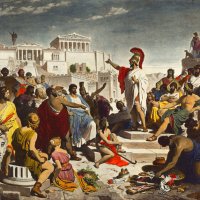 The birthplace of democracy - Athens